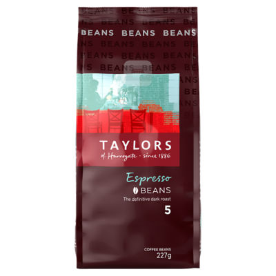 Taylors Of Harrogate Espresso Coffee Beans Asda Groceries