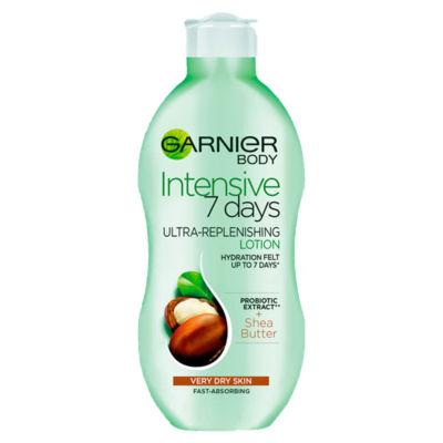 ASDA > Beauty Cosmetics > Garnier Intensive 7 Days Shea Butter Body Lotion Dry Skin