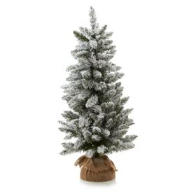 George Home 3ft Pre Lit Snowy Christmas Tree Asda Groceries