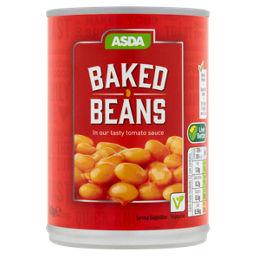 Asda Baked Beans In Tomato Sauce Asda Groceries