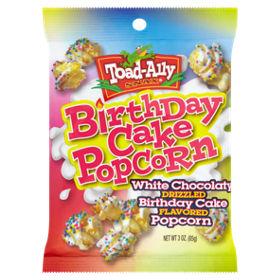 Toad-Ally Birthday Cake Popcorn - ASDA Groceries