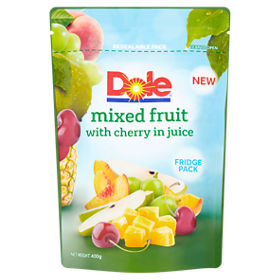 Dole Mixed Fruit With Cherry In Juice Fridge Pack Asda Groceries