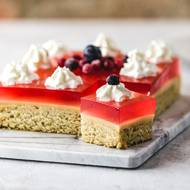 Just Wholefoods Trifle Slices
