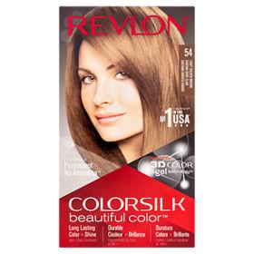 Revlon Colorsilk Permanent Hair Colour Light Golden Brown 54
