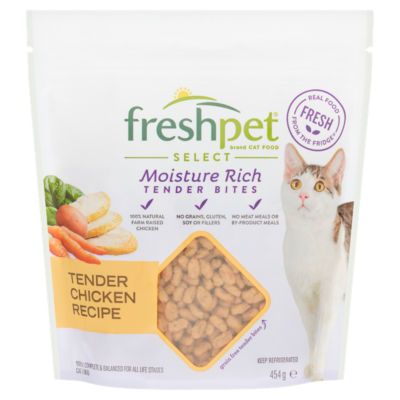 Freshpet Select Roasted Meals Tender Chicken Recipe Dry Cat Food
