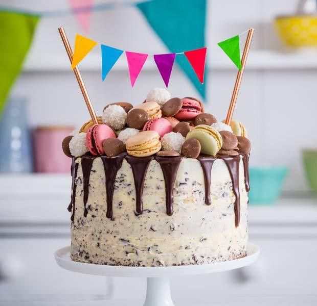 Briony Williams' chocolate drip celebration cake