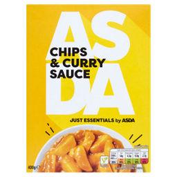 Asda Chips Curry Sauce Asda Groceries