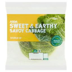 Asda Grower S Selection Savoy Cabbage Asda Groceries