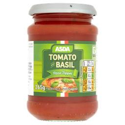 Asda Tomato Basil Pizza Topper Asda Groceries