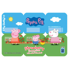 Peppa Pig Strawberry Fromage Frais Asda Groceries