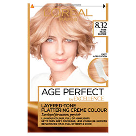 L Oreal Excellence Age Perfect 8 32 Natural Rose Blonde Permanent
