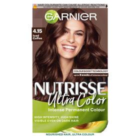 Nutrisse 4.15 Iced Coffee Brown Permanent Hair Dye