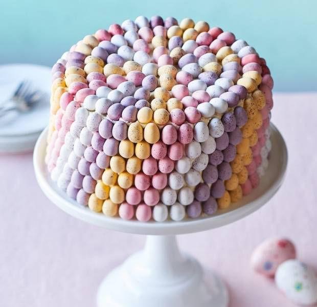 Marvellous mini egg cake