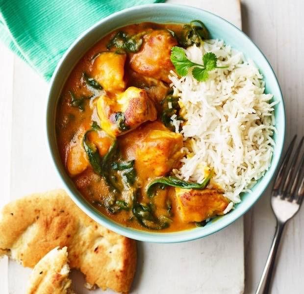 Chicken & Butternut Squash Korma