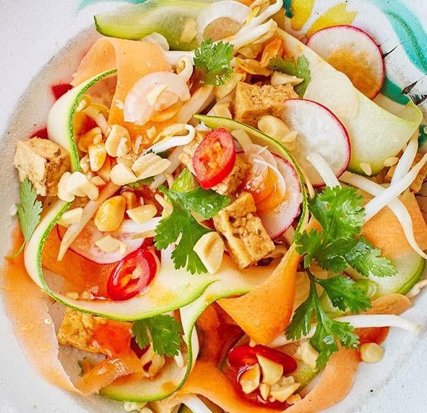 Pad Thai veg ribbon salad