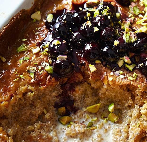 Creamy quinoa 'rice' pudding