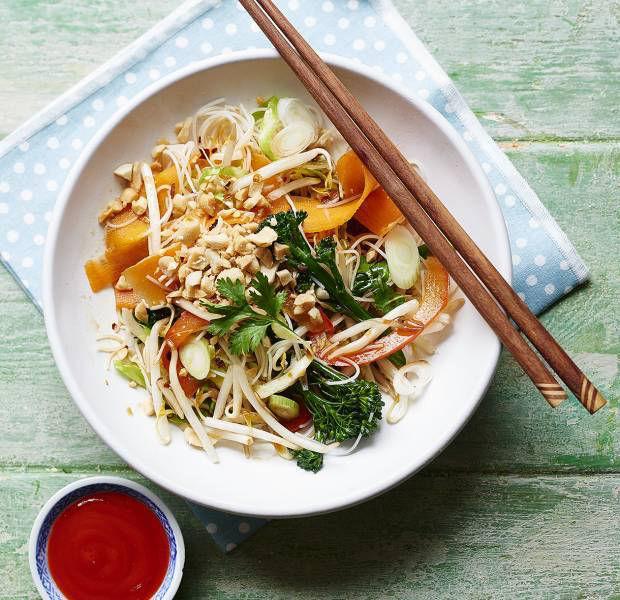 Street food-style pad thai