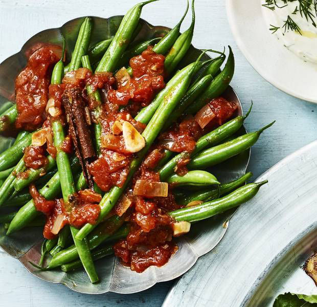 Lebanese style french beans