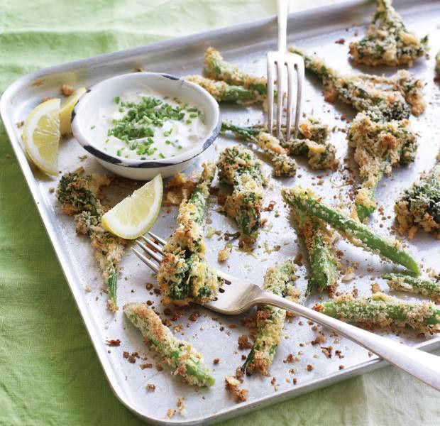 Tenderstem broccoli fries