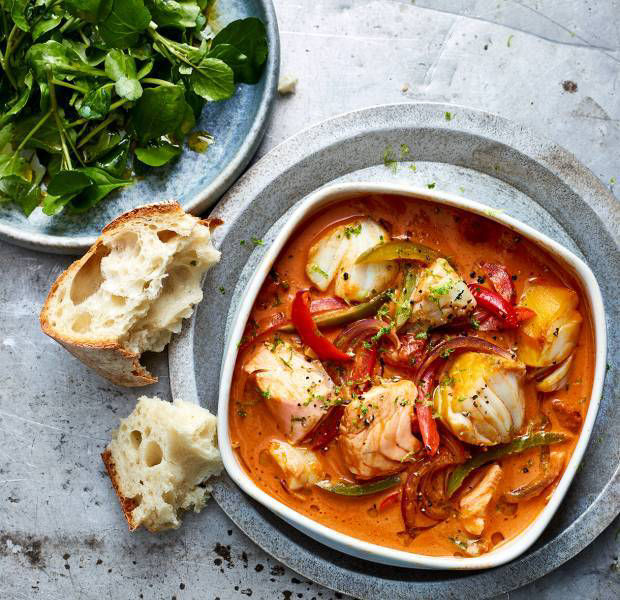 Brazilian-style fish stew