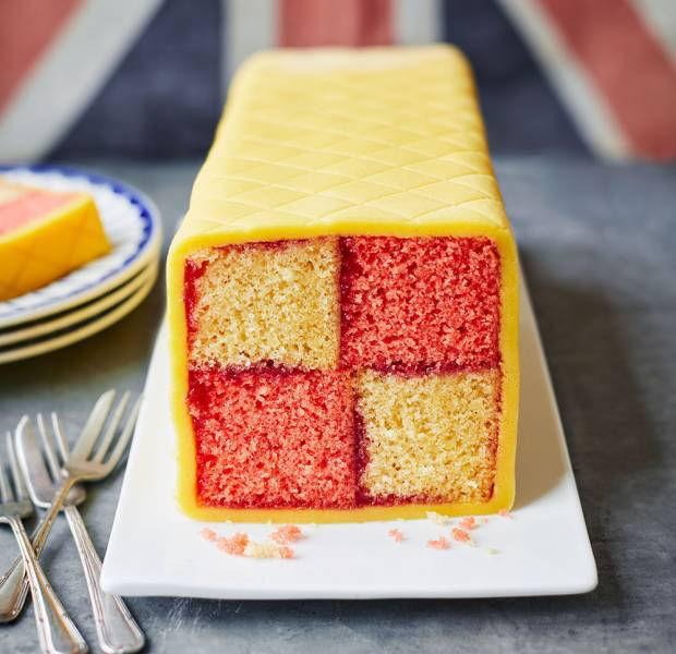 Classic Battenberg Cake