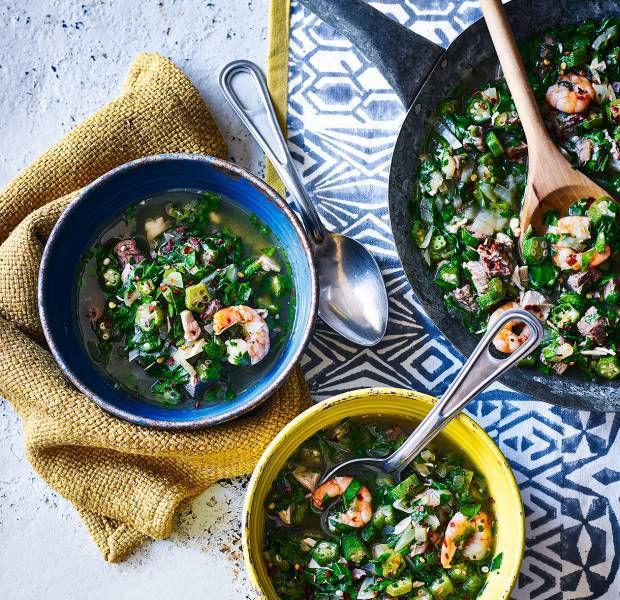 Nigerian-style okra stew