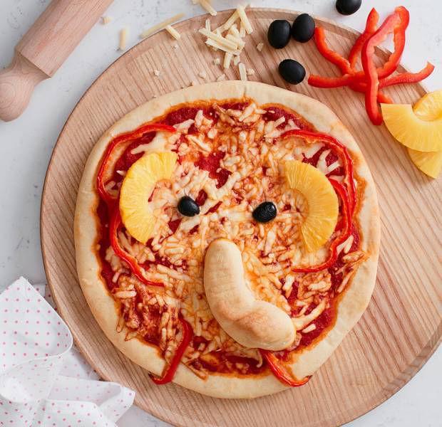 Briony Williams' Elephant Pizzas