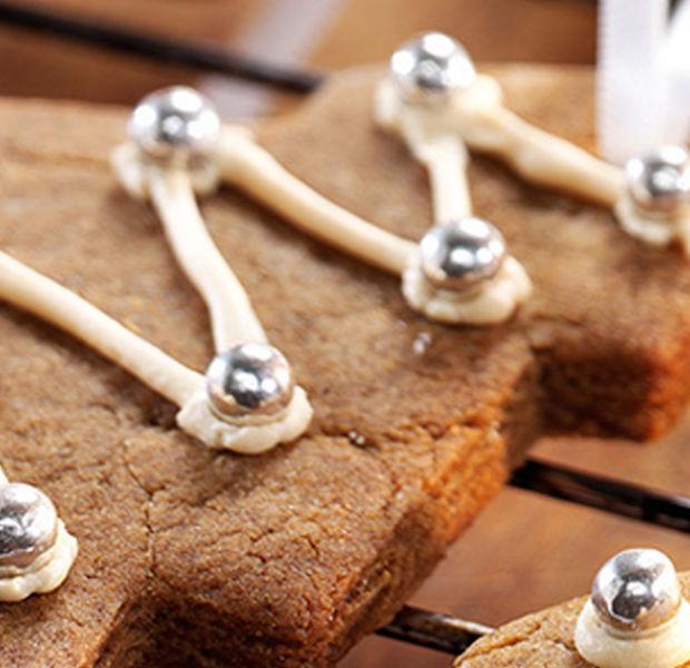 Billington's Christmas gingerbread hanging biscuits