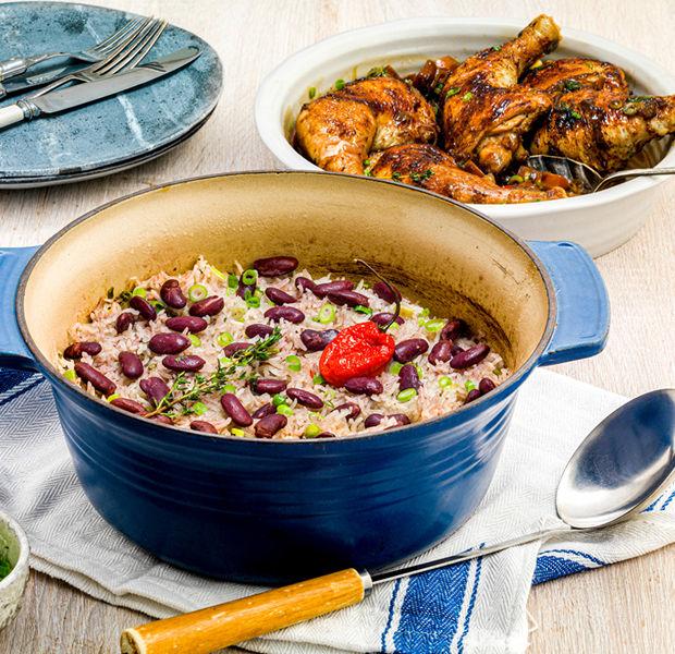 Kadeena Cox's Family Rice and Peas