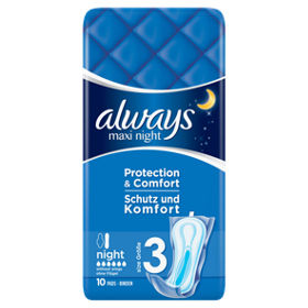 Maxi Night (Size 3) Sanitary Towels