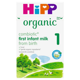 Hipp Organic First Milk Powder Formula Asda Groceries