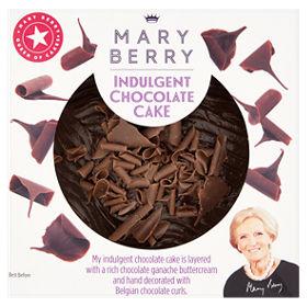 Mary berry indulgent chocolate cake asda groceries fandeluxe Gallery