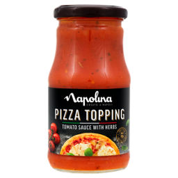 Napolina Tomato Sauce With Herbs Pizza Topping Asda Groceries