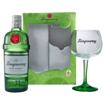 Tanqueray London Dry Gin Gift Set with Glass  sc 1 st  ASDA Groceries & Tanqueray London Dry Gin Gift Set with Glass - ASDA Groceries