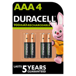 Duracell Accu Rechargeable Aaa Batteries Asda Groceries