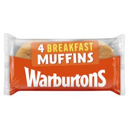 Warburtons Toasting Muffins Asda Groceries