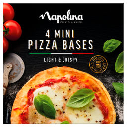 Napolina Mini Pizza Bases Asda Groceries