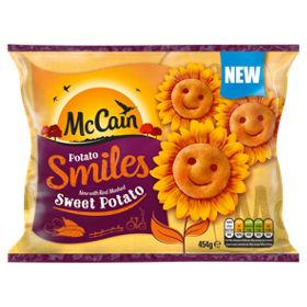 Sweet Potato Smiles