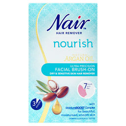 Nair Sensitive Formula Facial Brush On Hair Remover Asda Groceries