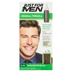 c3194e0b51f3c Just For Men Shampoo-In Natural Dark Brown-Black H-45 Haircolour ...