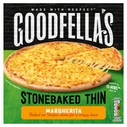 Goodfellas Stonebaked Thin Margherita Pizza Asda Groceries