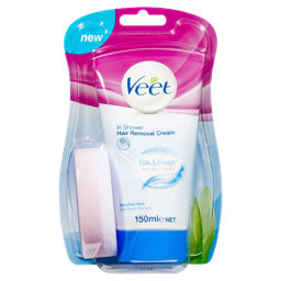 Veet In Shower Cream Sensitive Hair Removal Cream Asda Groceries