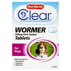 dog worming tablets asda