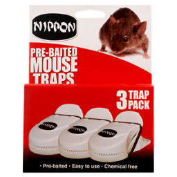 Nippon Pre Baited Mouse Traps Asda Groceries