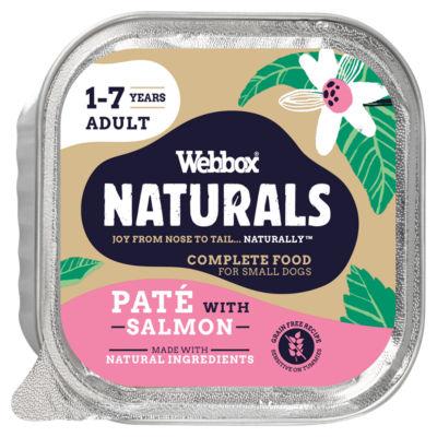 Webbox Premium Natural With Salmon Dog Food Tray Asda Groceries