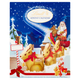 Lindt Advent Calendar Luxurious Chocolates To Countdown Christmas Asda Groceries