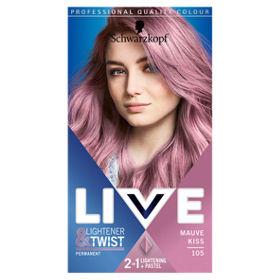 Live Lightener + Twist Permanent Pastel Hair Dye
