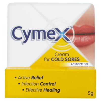 Yellow cold sore