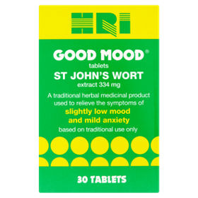 HRI Good Mood Tablets St John\'s Wort Extract - ASDA Groceries