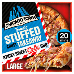 Chicago Town Takeaway Large Stuffed Sticky Sweet Cola Bbq